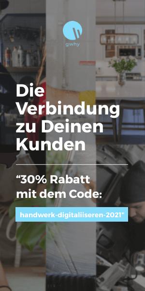 banner exklusiven Code gwhy handwerk-digitalisieren.de