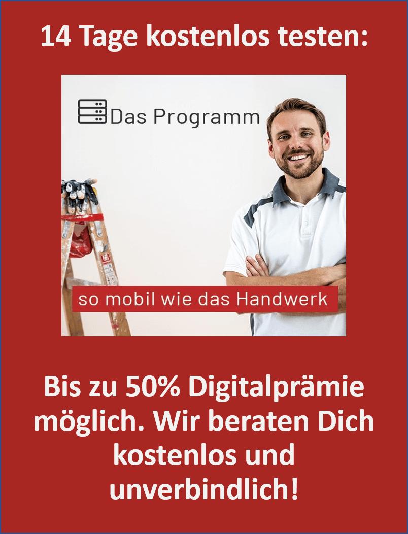 das programm förderung digitalisierung im handwerk